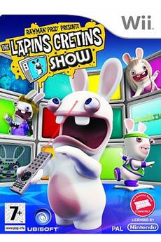 Jeux Wii RAYMAN CRETINS SHOW Ubisoft