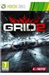Jeux Xbox 360 GRID 2 Bandai