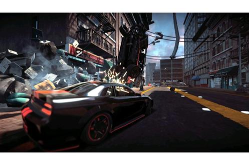 Jeux Xbox 360 RIDGE RACER UNBOUNDED Bandai