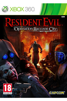 Jeux Xbox 360 Capcom RESIDENT EVIL OPERATION RACCOON CITY