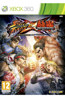 Jeux Xbox 360 STREET FIGHTER X TEKKEN Capcom