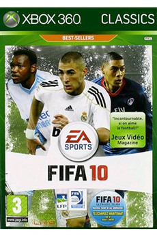 Jeux Xbox 360 FIFA 10 CLASSIC Electronic Arts