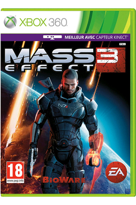 Jeux Xbox 360 MASS EFFECT 3 Electronic Arts