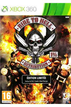 Jeux Xbox 360 RIDE TO HELL : RETRIBUTION Kochmedia