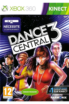 Jeu Xbox 360 - Kinect Dance Central 3