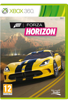 Jeux Xbox 360 FORZA HORIZON Microsoft