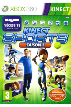 Jeux Xbox 360 KINECT SPORTS 2 Microsoft