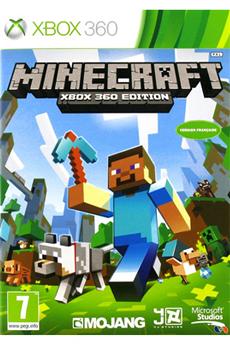 Jeux Xbox 360 MINECRAFT Microsoft