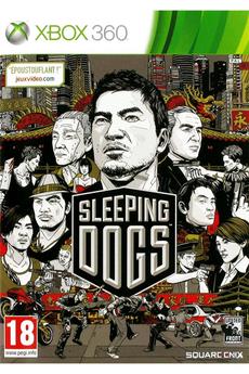 Jeux Xbox 360 SLEEPING DOGS Square Enix