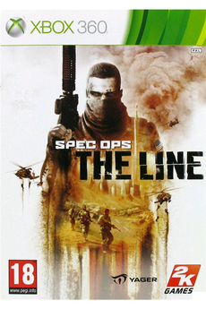 Jeux Xbox 360 SPEC OPS:THE LINE Take2