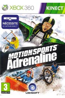 Jeux Xbox 360 MOTION SPORT ADRENALINE Ubisoft
