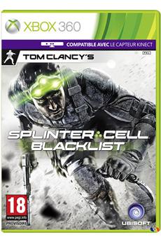 Jeux Xbox 360 SPLINTER CELL 6 : BLACKLIST Ubisoft