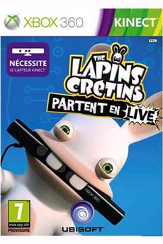 Jeux Xbox 360 THE LAPINS CRETINS PARTENT EN LIVE Ubisoft
