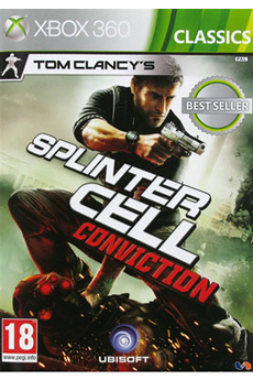 Jeux Xbox 360 TOM CLANCY'S SPLINTER CELL : CONVICTION - CLASSICS BEST SELLER Ubisoft