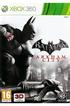 Jeux Xbox 360 BATMAN ARKHAM CITY Warner