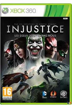 Jeux Xbox 360 INJUSTICE Warner