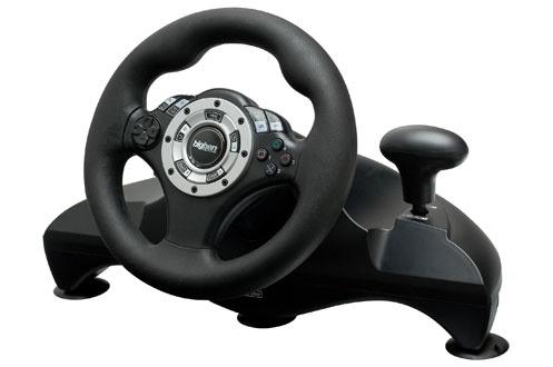 avis clients pour le produit accessoires ps3 bigben volant pedalier. Black Bedroom Furniture Sets. Home Design Ideas