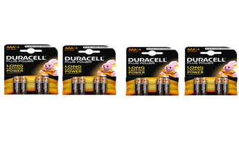 Pile 4 PACKS PLUS POW AAAX4 Duracell
