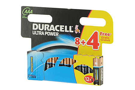 pile duracell lr03 aaa 8 4 ultra power lr3 darty. Black Bedroom Furniture Sets. Home Design Ideas
