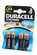 Duracell Ultra Power DURALOCK AA LR06 x4