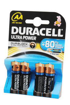 Pile Ultra Power DURALOCK AA LR06 x4 Duracell