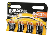 Duracell LR06 AA X8 PLUS POWER