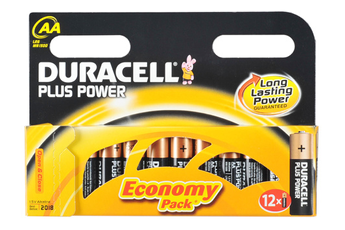 Pile LR06 AA x12 PLUS POWER Duracell