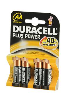 Pile LR06 AA x4 Duracell