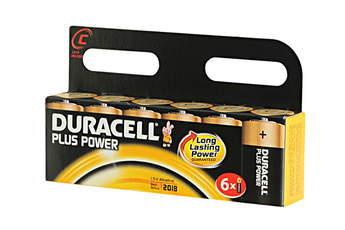 Pile LR14 C x6 PLUS POWER Duracell