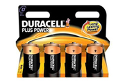Pile Duracell LR20 D x4 PLUS POWER