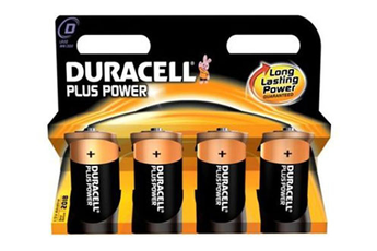 Pile LR20 D x4 PLUS POWER Duracell