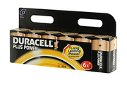 Duracell LR20 D x6 PLUS POWER
