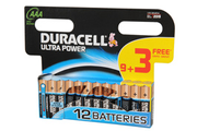 Duracell ULTRA POWER AAA LR03 X12