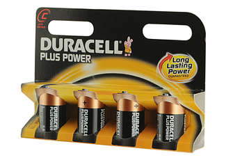 Pile LR14 C x4 PLUS POWER Duracell