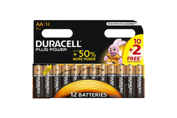 Pile PLUS POWER AA 10+2 Duracell