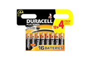 Duracell PLUS POWER LR06 AA 12+4