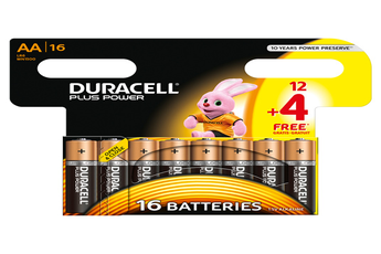 Pile PLUS POWER LR06 AA 12+4 Duracell