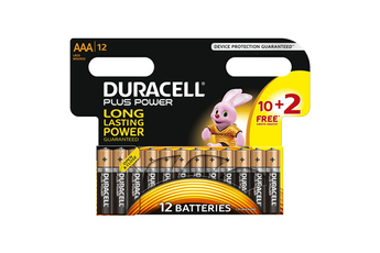 Pile PLUS POWER AAA 10+2 Duracell