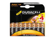 Duracell PLUS POWER LR03 AAA 12+4