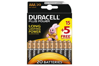 Pile PLUS POWER AAA 15+5 Duracell