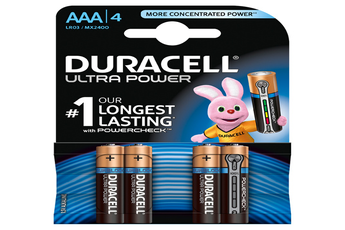 Pile ULTRA POWER AAAX4 Duracell