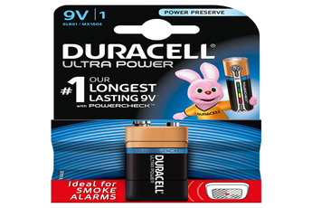 Pile ULTRA POWER 9VX1 Duracell
