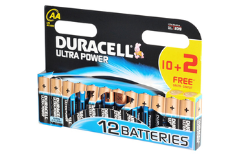 Pile ULTRA POWER AA LR06 x12 Duracell