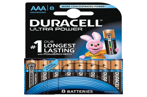 Pile Duracell ULTRA POWER AAAX8