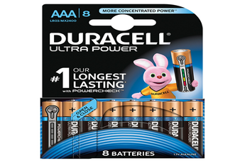 Pile ULTRA POWER AAAX8 Duracell