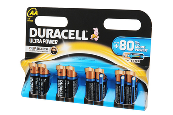 Pile ULTRA POWER AA LR06 x8 Duracell