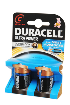 Pile ULTRA POWER C LR14 x2 Duracell