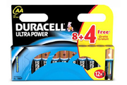 Duracell LR06 AA 8+4 ULTRA POWER