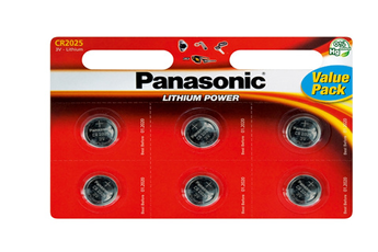 Pile CR-2025 X6 Panasonic