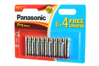 Pile LR03 6+4 MINIONS Panasonic